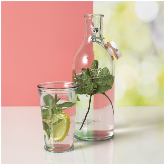 verre recycle set et carafe